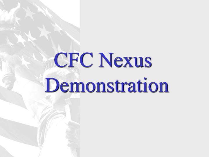CFC Nexus Demonstration