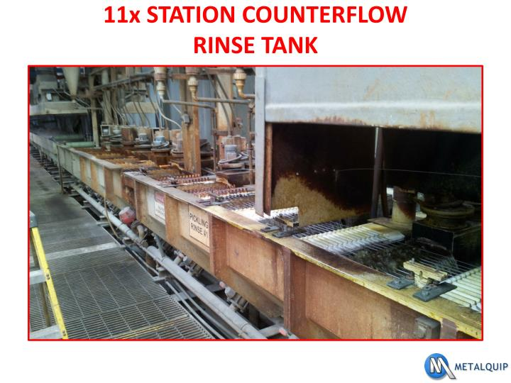 11x STATION COUNTERFLOW
