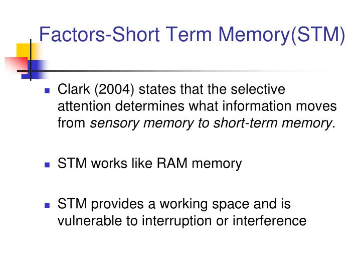Factors-Short