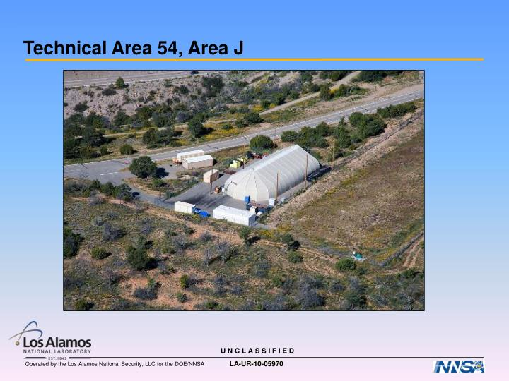 Technical Area 54, Area J