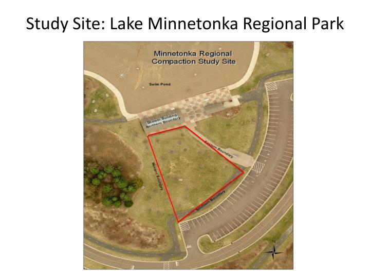 Study Site: Lake Minnetonka Regional Park