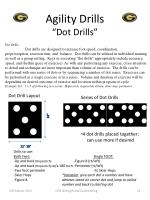 agility drills dot drills
