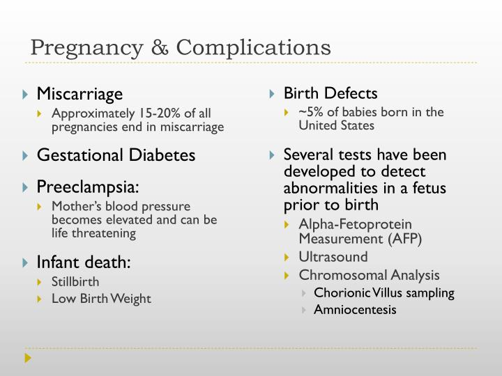 Pregnancy & Complications
