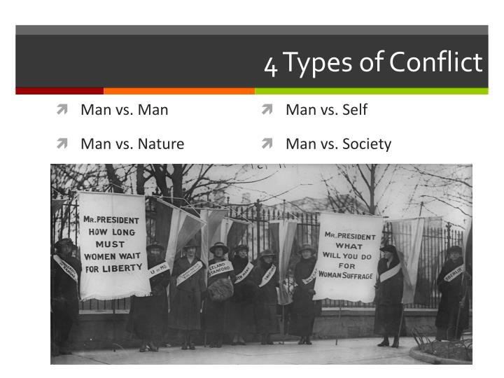 4 Types of Conflict