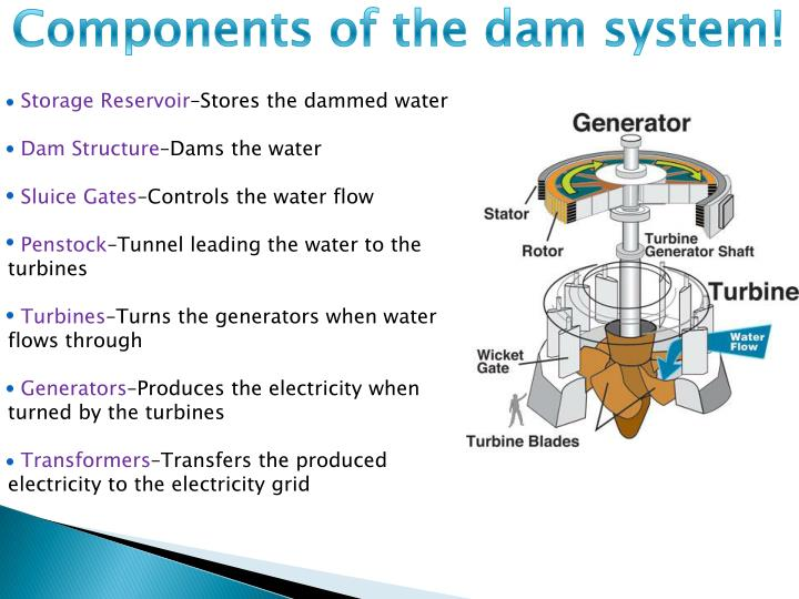 Components of the dam system!