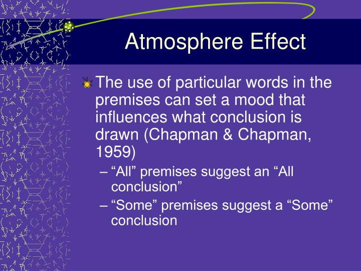 Atmosphere Effect