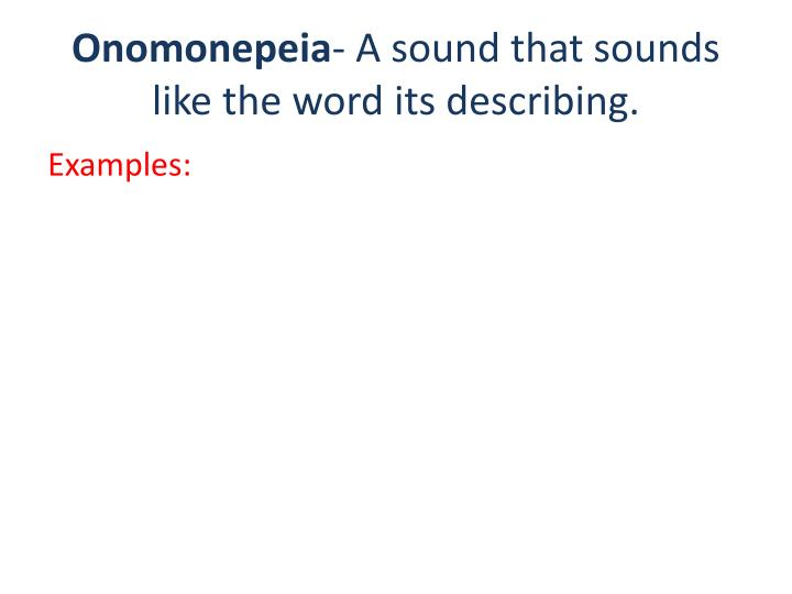 Onomonepeia