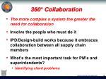 360 collaboration