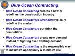 blue ocean contracting