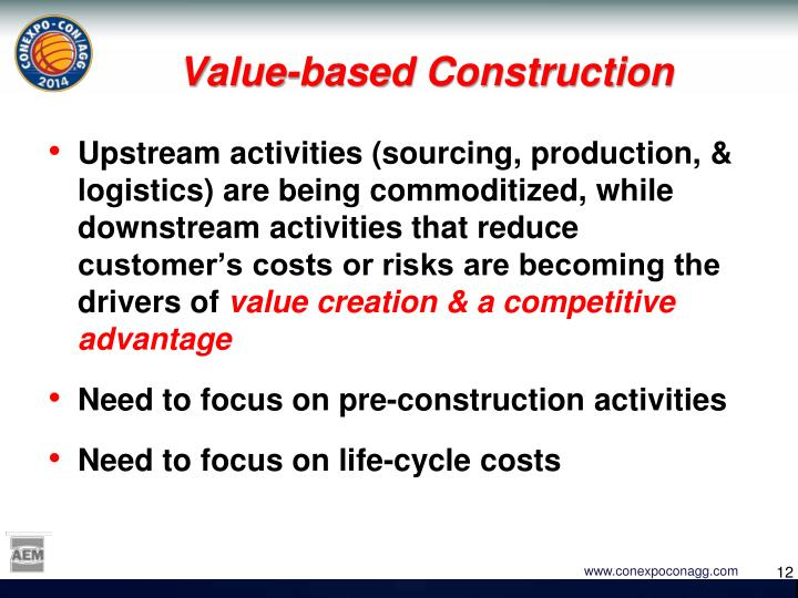 Value-based Construction