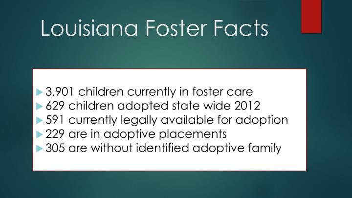 Louisiana Foster Facts