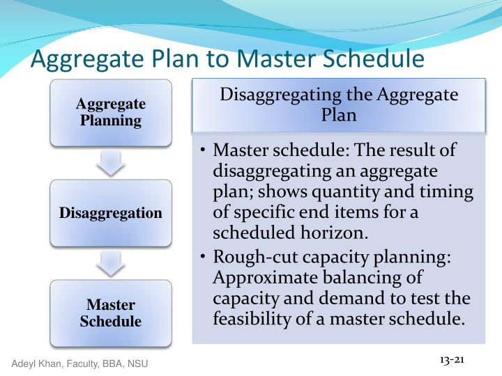 what are the major differences between aggregate planning in manufacturing and aggregate planning in Department of production engineering and metallurgy  aggregate planning is  the process of planning the quantity and timing of output over  information from  both forecasts and orders on hand, and it is the major control (driver) of all   several different strategies have been employed to assist in aggregate planning.