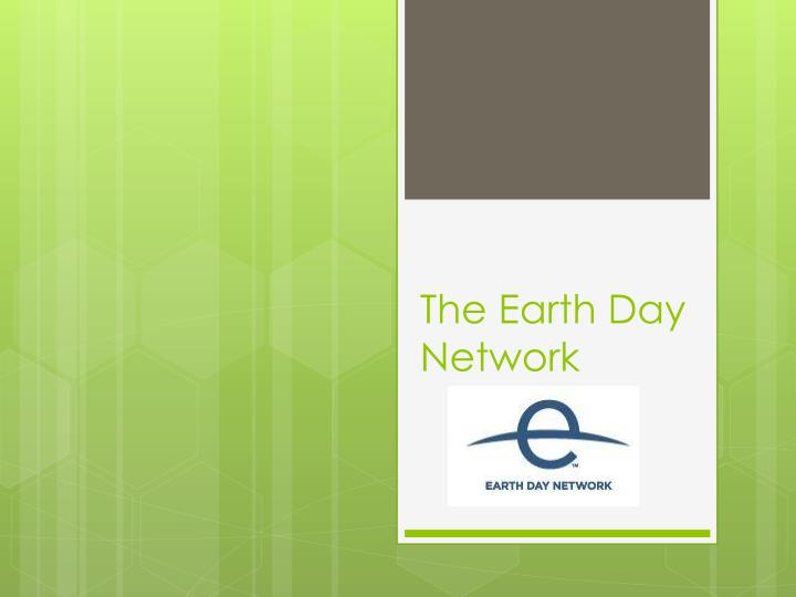 The earth day network