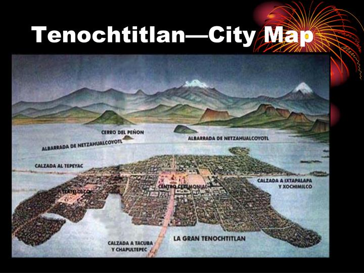 Tenochtitlan—City Map