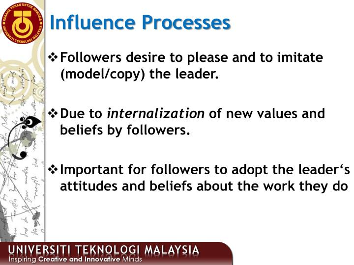 Influence Processes