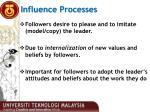influence processes