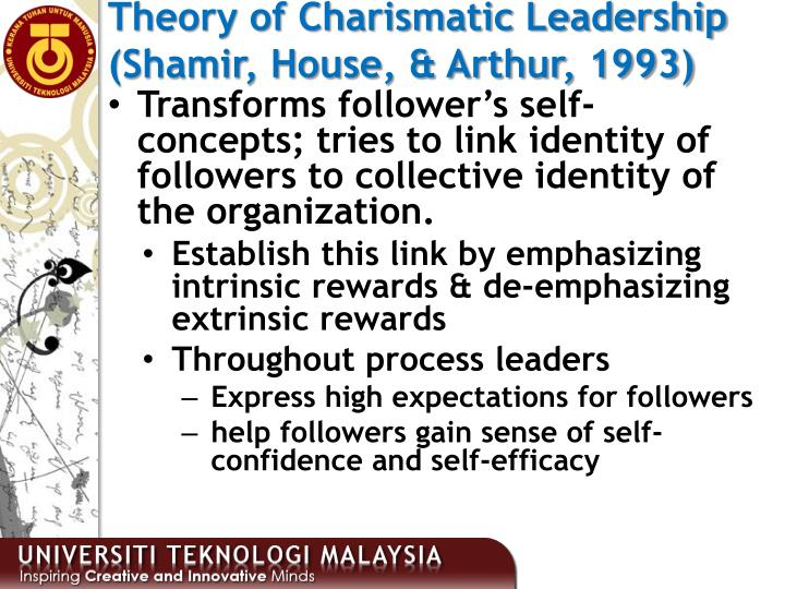 Theory of Charismatic Leadership