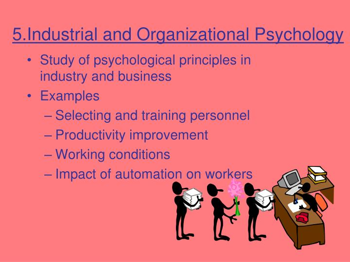 5.Industrial and Organizational Psychology