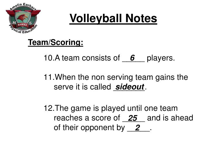 Team/Scoring: