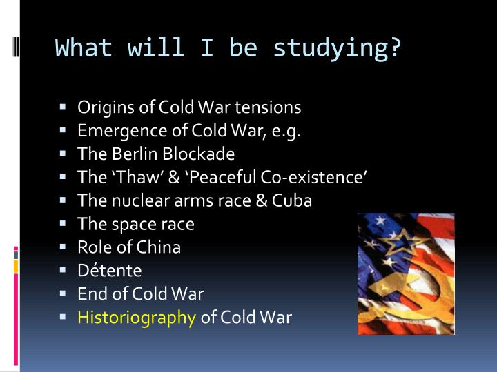 cold war and the arms race essay