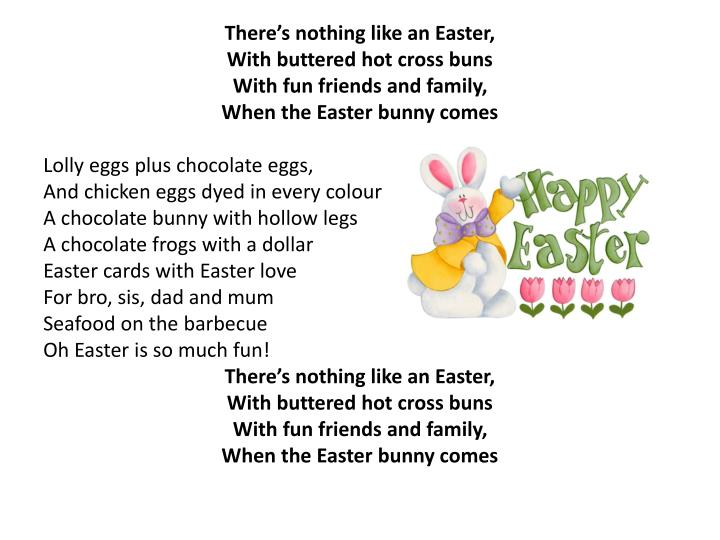 There's nothing like an Easter,