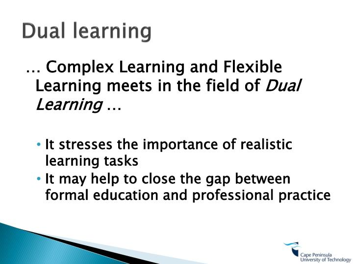 Dual learning