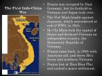 the first indo china war
