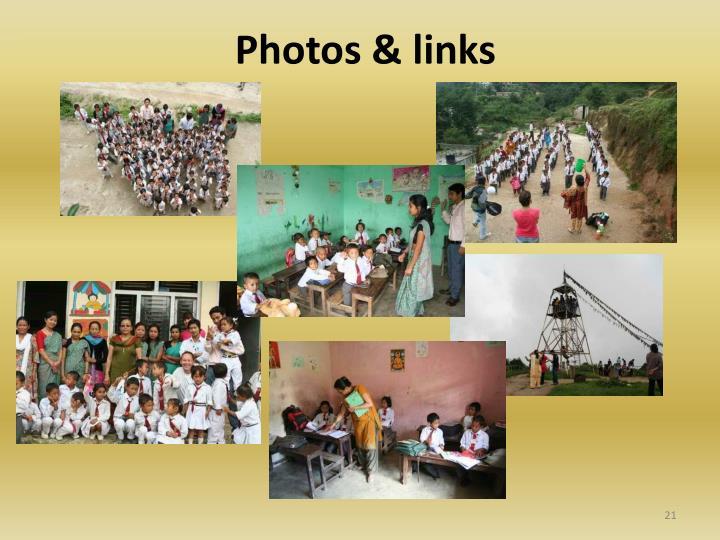 Photos & links