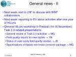 general news ii