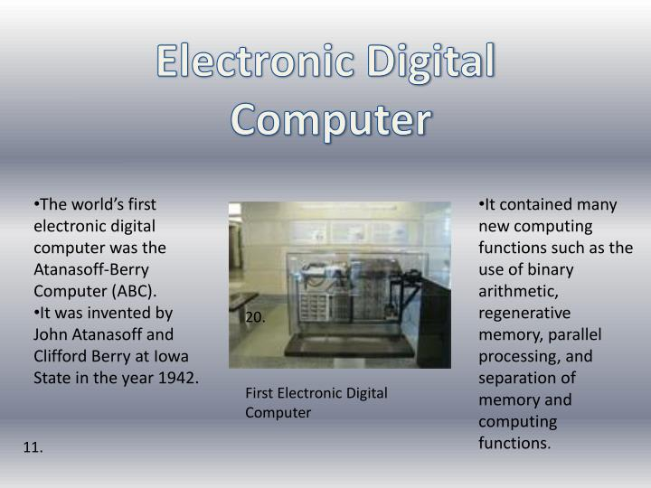 Electronic Digital