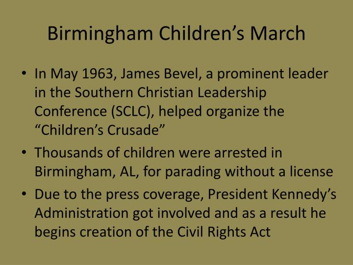 Birmingham Children's March