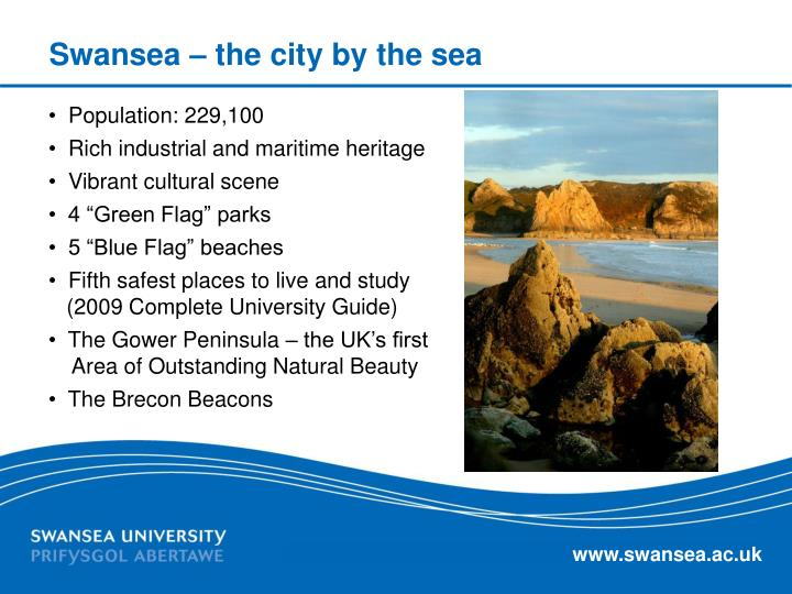 Swansea – the city by the sea