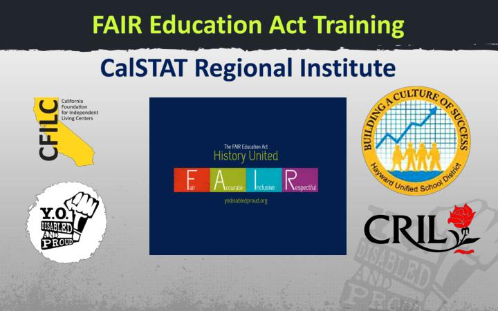 FAIR Education Act Training
