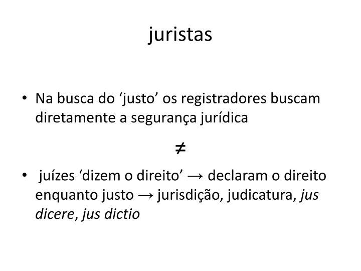 juristas