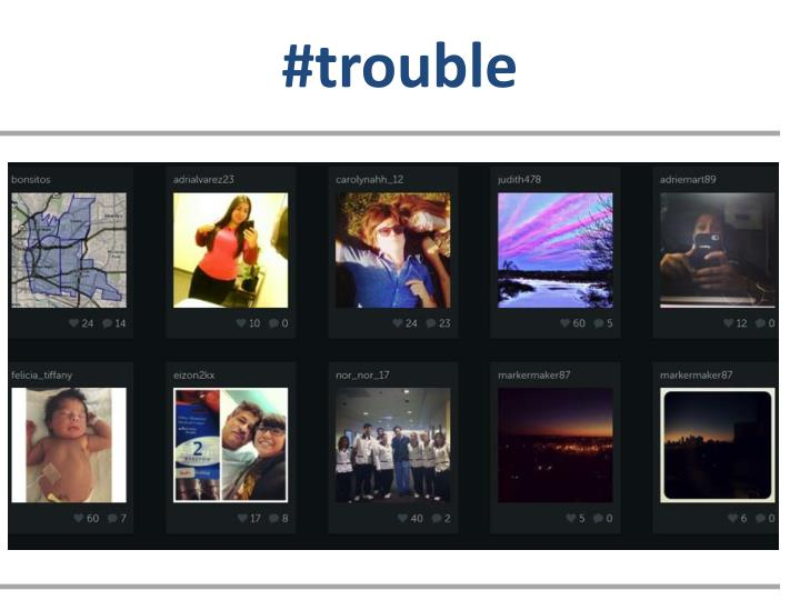 #trouble