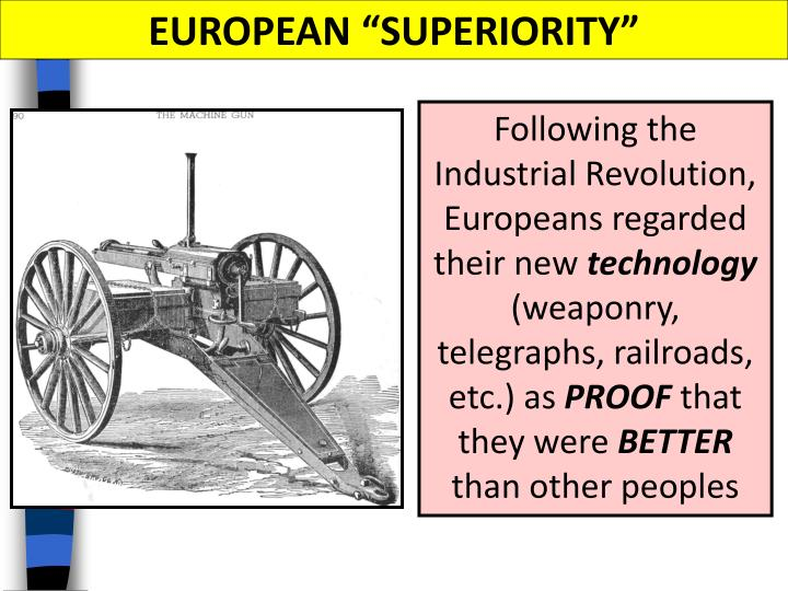 "EUROPEAN ""SUPERIORITY"""