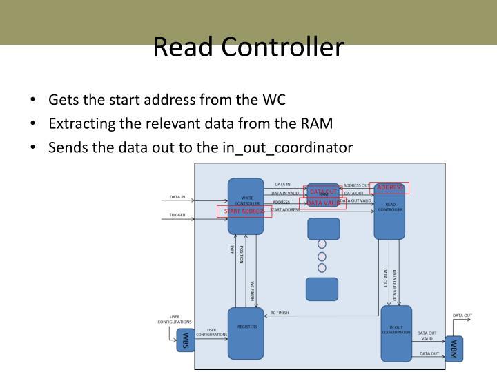 Read Controller