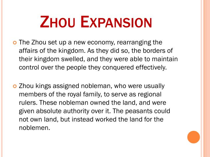 Zhou Expansion