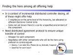 finding the hero among all offering help