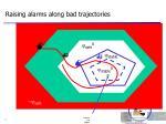 raising alarms along bad trajectories