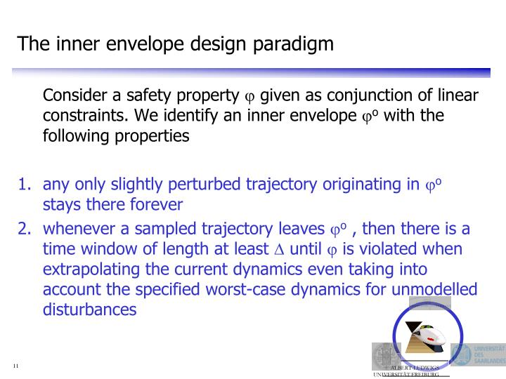 The inner envelope design paradigm