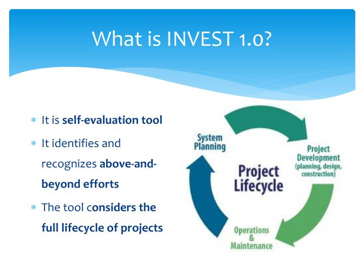What is invest 1 0