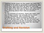 drafting and revision