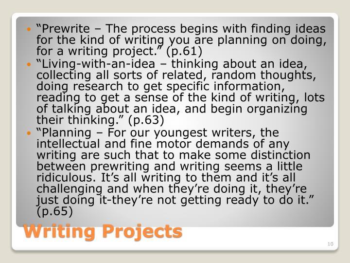 """Prewrite"