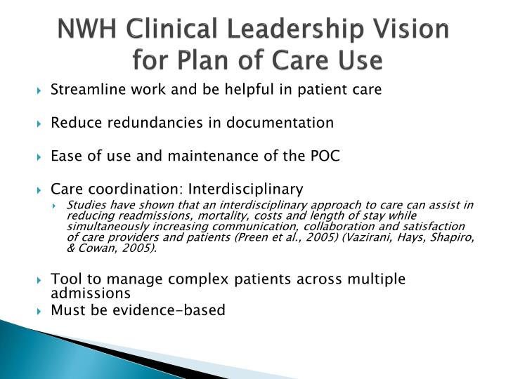 NWH Clinical Leadership