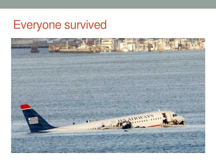 Everyone survived