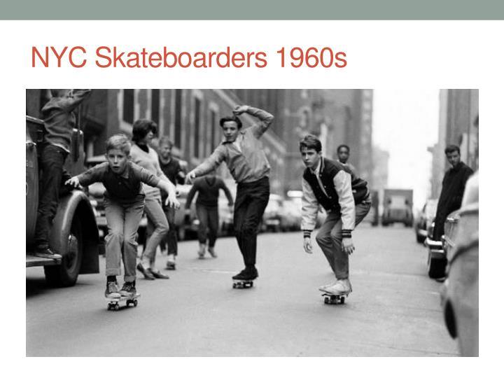 NYC Skateboarders 1960s