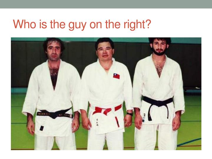 Who is the guy on the right?
