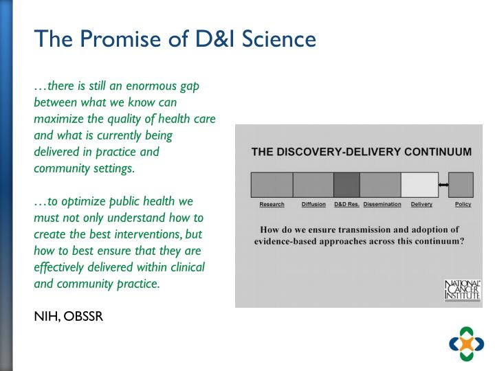 The Promise of D&I Science