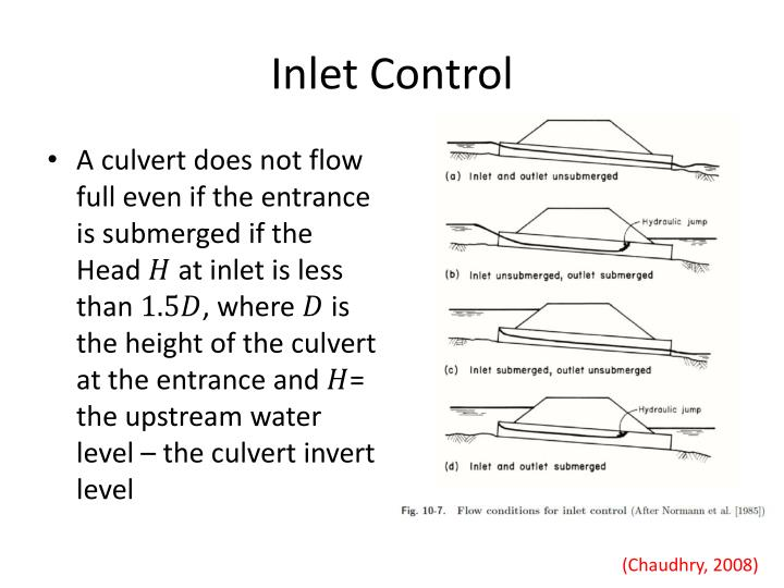 Inlet Control
